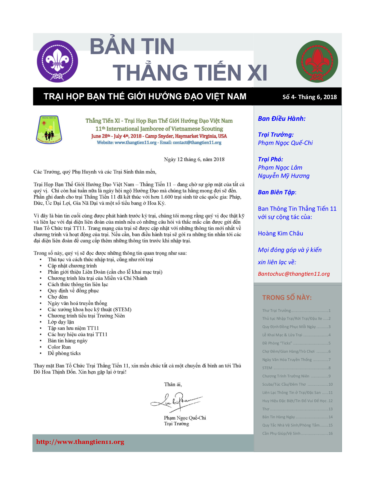 Thumbnail for TT11 Newsletter #4 Viet