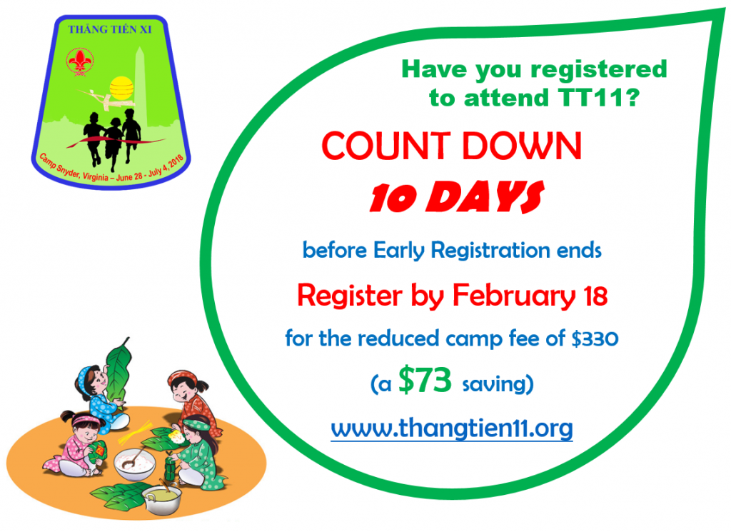 Have you registered for TT11?